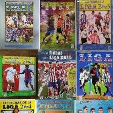 Álbum de fútbol completo: MUNDICROMO ALBUM COMPLETO COLECCIÓN COMPLETA BASICA DE 94-95 A 2015-16 + OTROS ALBUMS DE MUNDICROMO. Lote 286156513