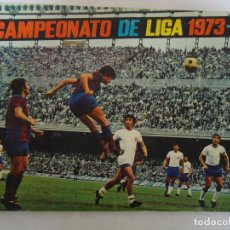 Album de football complet: ALBUM CROMOS CAMPEONATO DE LIGA 1973 - 74 FHER DISGRA COMPLETO .FALTAN 29 DEL POSTER CENTRAL. Lote 286523273