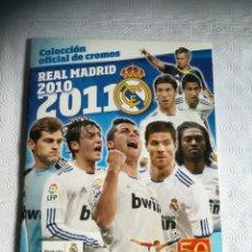 Album de football complet: ALBUM R. MADRID T. 2010 2011. Lote 286718608