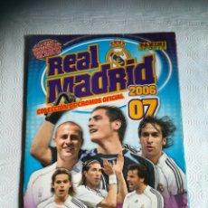 Album de football complet: ALBUM R. MADRID T. 2006 2007. Lote 286719183