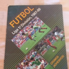 Album de football complet: ALBUM DE CROMOS COMPLETO FÚTBOL, LIGA 1ª DIVISIÓN 1987-1988 87-88 DE FESTIVAL. 300 CROMOS. Lote 286854528