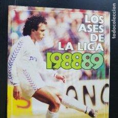 Album de football complet: ÁLBUM CROMOS FÚTBOL LOS ASES DE LA LIGA 1988-1989 100% COMPLETO DIARIO AS 88-89. Lote 287024343