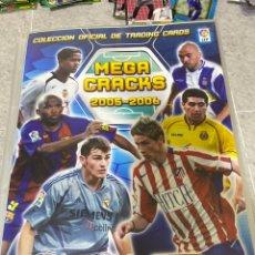 Album de football complet: COLECCIÓN COMPLETA MEGACRACKS 2005/2006 ( INCLUYE MESSI #72BIS / RAMOS ROOKIES ) VER FOTOS.. Lote 287104998