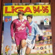 Album de football complet: ALBUM CROMOS COMPLETO LIGA FUTBOL 94-95. Lote 287334758