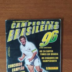 Album de football complet: ALBUM CAMPEONATO BRASIL 96 PANINI. Lote 287381533