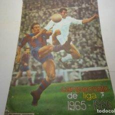 Album de football complet: ALBUM DE FUTBOL COMPLETO CAMPEONATO DE LIGA 1965-66 DISGRA I CON 256 CROMOS. Lote 287407513