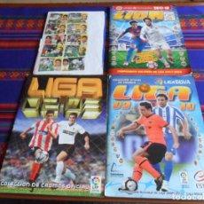 Álbum de fútbol completo: ESTE LIGA 2009 2010 COMPLETO Y ESTE LIGA 2002 2003 INCOMPLETO. REGALO 2017 2018 INCOMPLETO.. Lote 287449818