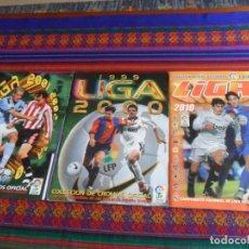 Álbum de fútbol completo: ESTE LIGA 2010 2011 COMPLETO Y ESTE LIGA 1999 2000 INCOMPLETO. REGALO ESTE LIGA 2001 2002 INCOMPLETO. Lote 287452073