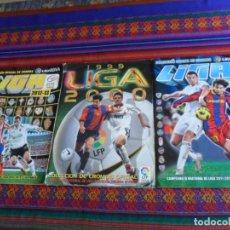 Álbum de fútbol completo: ESTE LIGA 2011 2012 COMPLETO Y ESTE LIGA 1999 2000 INCOMPLETO. REGALO ESTE LIGA 2012 2013 INCOMPLETO. Lote 287455723