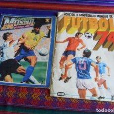 Álbum de fútbol completo: ASES DEL X CAMPEONATO MUNDIAL DE ALEMANIA FUTBOL 74 COMPLETO CON QUINI Y COSTAS. FHER. REGALO USA 94. Lote 287464123