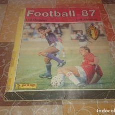 Álbum de fútbol completo: PANINI FOOTBALL 87 LIGA BÉLGICA COMPLETO. Lote 287576573