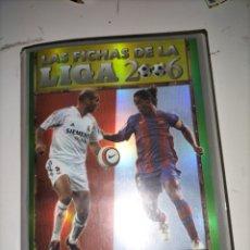 Álbum de fútbol completo: MUNDICROMO COLECCIÓN COMPLETA 2005/2006 MESSI. Lote 287931553