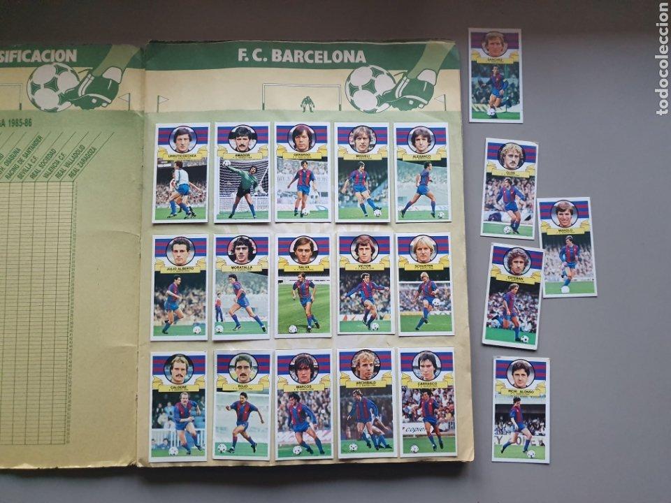 Álbum de fútbol completo: ALBUM COMPLETO LIGA ESTE 85 86 1985 1986 CON MUCHISIMOS DOBLES SIN PEGAR CRISTOBAL Y PETURSSON - Foto 2 - 287951528