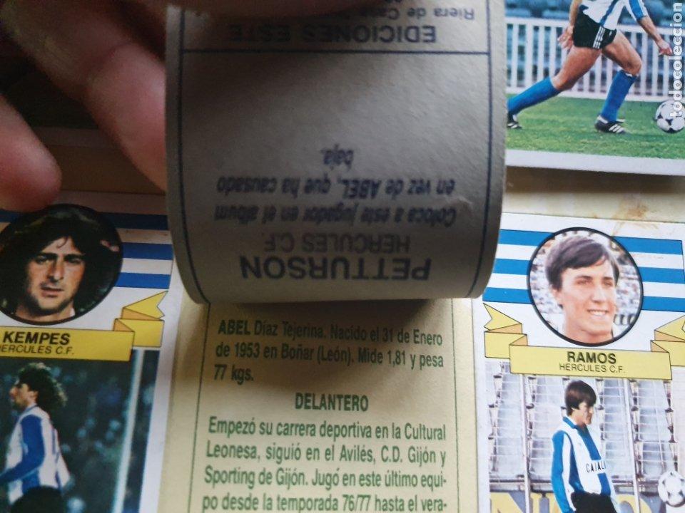 Álbum de fútbol completo: ALBUM COMPLETO LIGA ESTE 85 86 1985 1986 CON MUCHISIMOS DOBLES SIN PEGAR CRISTOBAL Y PETURSSON - Foto 9 - 287951528
