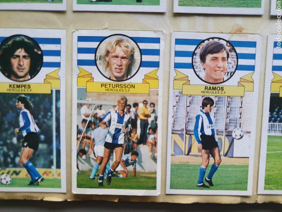 Álbum de fútbol completo: ALBUM COMPLETO LIGA ESTE 85 86 1985 1986 CON MUCHISIMOS DOBLES SIN PEGAR CRISTOBAL Y PETURSSON - Foto 10 - 287951528