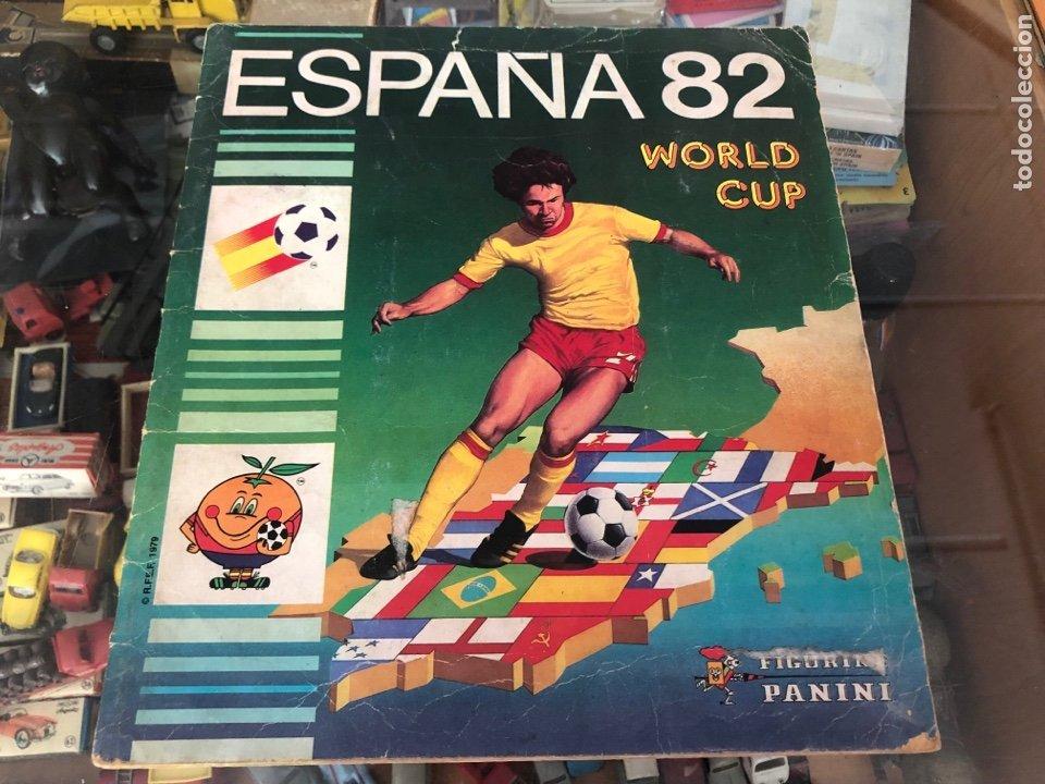 ALBUM COMPLETO CAMPEONATO MUNDIAL FUTBOL ESPAÑA 82 WORLD CUP EDITA PANINI ESPAÑA CONTIENE MARADONA (Coleccionismo Deportivo - Álbumes y Cromos de Deportes - Álbumes de Fútbol Completos)