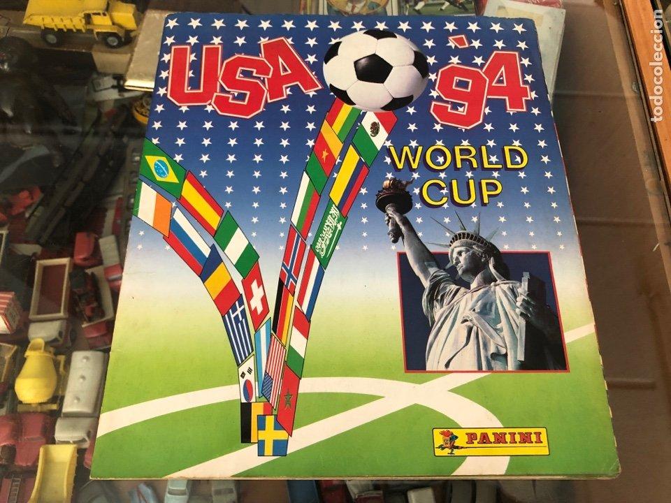 ALBUM COMPLETO CAMPEONATO MUNDIAL FUTBOL USA 94 WORLD CUP PANINI SIN ESCRITOS CONTIENE MARADONA (Coleccionismo Deportivo - Álbumes y Cromos de Deportes - Álbumes de Fútbol Completos)