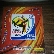 Álbum de fútbol completo: MUNDIAL SOUTH AFRICA 2010 PANINI - ALBUM COMPLETO (640 CROMOS). Lote 287998488