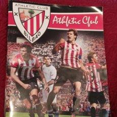 Álbum de fútbol completo: ALBUM COLECCION OFICIAL DE CROMOS ATHLETIC CLUB BILBAO FOOTPRINT 2011-2012.COMPLETO. Lote 288378268