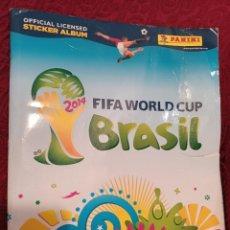 Álbum de fútbol completo: ALBUM CROMOS FIFA WORLD CUP BRAZIL 2014. STICKER ALBUM PANINI . COMPLETO. Lote 288380948