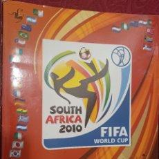 Álbum de fútbol completo: ALBUM WORLD CUP SOUTH AFRICA PANINI 2010. COMPLETO. Lote 288391213
