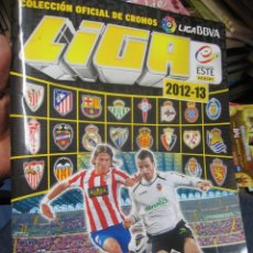Álbum de fútbol completo: ALBUM DE CROMOS CAMPEONATO NACIONAL DE LIGA 2012-2013 ESTE INCLUIDO LOS CROMOS CHICLE . COMPLETO. Lote 288534438