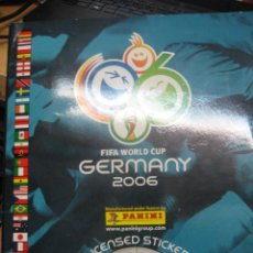 Álbum de fútbol completo: ALBUM FIFA WORLD CUP GERMANY 2006 EDIT PANINI. COMPLETO. Lote 288534853
