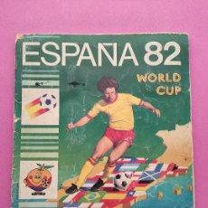 Álbum de fútbol completo: ALBUM CROMOS COMPLETO MUNDIAL ESPAÑA 82 PANINI COPA DEL MUNDO 1982 SPAIN WC WORLD CUP MARADONA. Lote 291508193