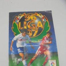 Álbum de fútbol completo: ALBUM COMPLETO. LIGA 96/ 97. COLECCIONES ESTE. CONTIENE 98 DOBLES 38 COLOCA ULTIMOS FICH. VER FOTOS.. Lote 292530258