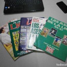 Álbum de fútbol completo: LOTE DE ALBUMES LOS ASES DE LA LIGA AS AÑOS 80 Y 90 DOS DE ELLOS COMPLETOS VER FOTOS. Lote 292596568