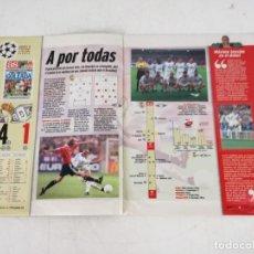 Álbum de fútbol completo: ÁLBUM DE CROMOS COMPLETO, AS, EL ÁLBUM DE LA SÉTIMA, 1998. Lote 292940088