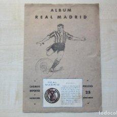 Álbum de fútbol completo: ALBUM REAL MADRID EDICIONES VALENCIANAS 1941. Lote 293162798