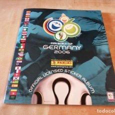 Álbum de fútbol completo: ALBUM FUTBOL MUNDIAL FIFA WORLD CUP GERMANY 2006 COMPLETO DE PANINI PERFECTO ESTADO VER FOTOS. Lote 294005478