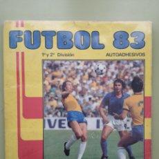 Álbum de fútbol completo: FUTBOL 83 ALBUM COMPLETO PANINI CROMO CROM CON MARADONA 1982-1983. Lote 294032768