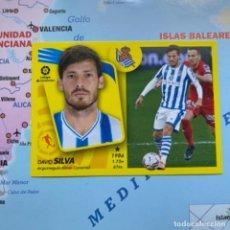 Álbum de fútbol completo: SILVA NÚMERO 15A DE LA REAL SOCIEDAD CROMO LIGA ESTE 21-22 2021-2022. Lote 294034118