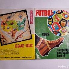 Álbum de fútbol completo: RUIZ ROMERO - CAMPEONATOS NACIONALES DE FUTBOL 1969 - 69 - ALBUM COMPLETO + 4 COLOCA. Lote 294093338