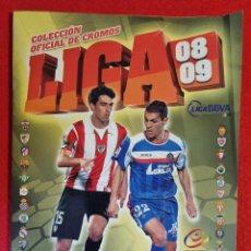 Álbum de fútbol completo: ALBUM CROMOS FUTBOL LIGA 2008 2009 08 09 EDICIONES ESTE COMPLETO A. Lote 294442618