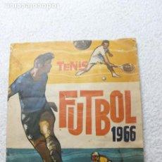 Álbum de fútbol completo: ALBUM FUTBOL TENIS CICLISMO RUIZ ROMERO 1966. Lote 295847923