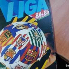 Álbum de fútbol completo: ALBUM ESTE 84/85 ESTUPENDO ESTADO CON TODO LO EDITADO MENOS 4. Lote 295848673