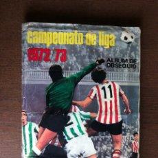 Álbum de fútbol completo: ALBUM FUTBOL LIGA ESTE 72-73 COMPLETO 1972-1973 CON 288 CROMOS. Lote 295854823