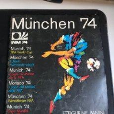 Álbum de fútbol completo: ÁLBUM COMPLETO MUNDIAL MUNICH 1974 PANINI. Lote 296769073