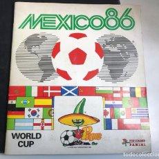 Álbum de fútbol completo: ALBUM COMPLETO MEXICO 1986 PANINI. Lote 296769328