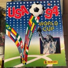 Álbum de fútbol completo: ALBUM COMPLETO CAMPEONATO MUNDIAL FUTBOL USA 94 WORLD CUP PANINI SIN ESCRITOS CONTIENE MARADONA. Lote 296802528
