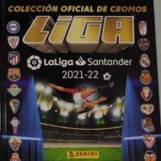Álbum de fútbol completo: LIGA ESTE 2021 22 COLECCIÓN COMPLETA 100% TODOS LOS CROMOS FIRMADAS PORTADAS ETC PANINI FÚTBOL MIRA. Lote 297122623