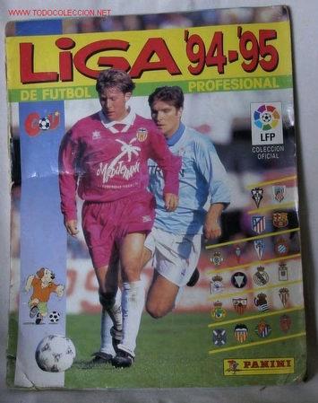 ALBUM LIGA 94-95 DE FUTBOL PROFESIONAL (Coleccionismo Deportivo - Álbumes y Cromos de Deportes - Álbumes de Fútbol Incompletos)