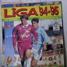 Coleccionismo deportivo: ALBUM LIGA 94-95 DE FUTBOL PROFESIONAL. Lote 26389434