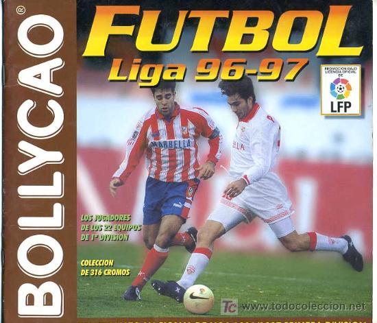 ALBUM FUTBOL LIGA 96 97 BOLLYCAO , INCOMPLETO (Coleccionismo Deportivo - Álbumes y Cromos de Deportes - Álbumes de Fútbol Incompletos)