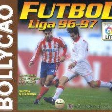 Coleccionismo deportivo: ALBUM FUTBOL LIGA 96 97 BOLLYCAO , INCOMPLETO. Lote 167867086