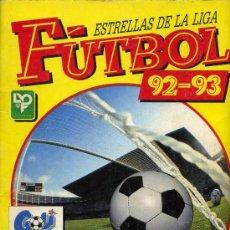 Coleccionismo deportivo: ALBUM FUTBOL LIGA 92 93 , PANINI , INCOMPLETO. Lote 26885044