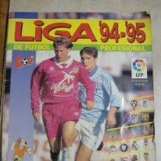 Coleccionismo deportivo: ALBUM DE CROMOS INCOMPLETO - LIGA 94-95 DE FUTBOL PROFESIONAL (PANINI). Lote 12327328